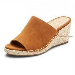 VIONIC Ladies TULUM KADYN  Espadrille Wedge Slide Sandals CA