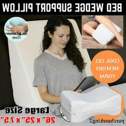 Large Size Memory Foam Wedge Support Pillow Body Positioner