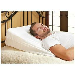 """10"""" Foam Bed Wedge Pillow Cushion with Cover 24 x 24 x 10"""