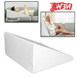 Massage Back Lumbar Memory Foam Pillow Wedge Support Cushion