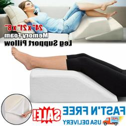 Memory Foam Elevation Wedge Leg Support Pillow Foot Rest Bed