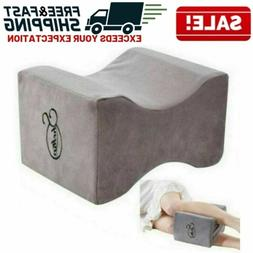 Memory Foam Knee Wedge Pillow Sleeping Leg Cushion Elevator