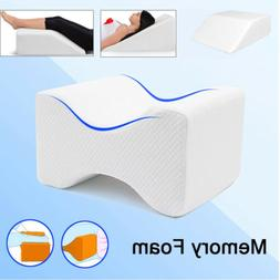 Memory Foam Support Wedge Pillow Back Lumbar Knee Pillow Sle