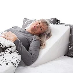 memory foam wedge pillow system comfort sleep