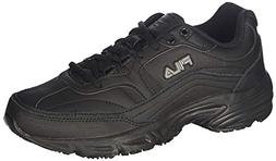 Fila Women's Memory Workshift Sneakers,Black,11 M