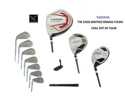 AGXGOLF MENS LEADER FULL GOLF SET 460 DR+3WD+HY+4-9 IRONS+WE