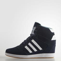 Adidas NEO Super Wedge Women's Sports Sneakers AW4847 Hi Top