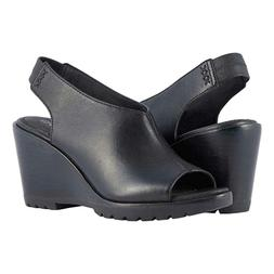 New $150 Sorel womens After Hours slingback sandals wedges s