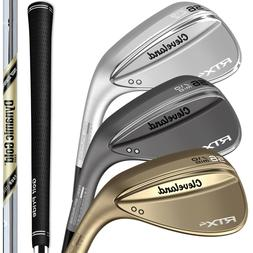 Cleveland RTX 4 Blade Wedges - Pick from 2019 Raw, Black, or