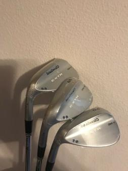NEW Cleveland Golf RTX-3 Rotex Wedges 52 56 60 VMG GW SW LW