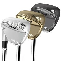New* Cleveland RTX-4 Wedges Steel Shafts Choose Color, Loft