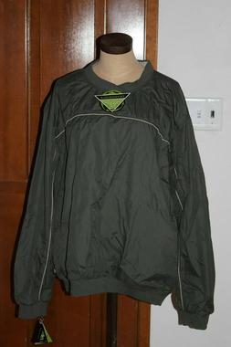 nwt wedge green windbreaker jacket brand new size xl golf ja