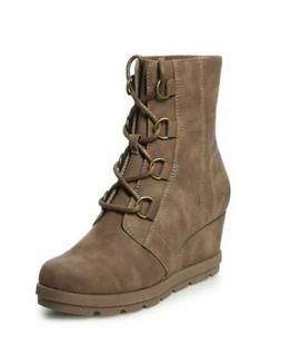 NWT Women's SONOMA Goods for Life™ Adelia Wedge Boots Shoe