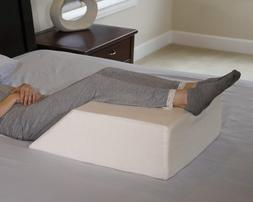 ortho bed wedge pillow with a high