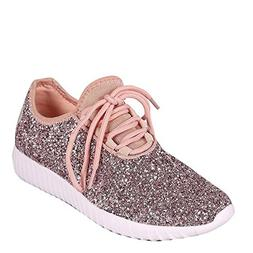 Forever Link Women's Remy-18 Glitter Sneakers | Fashion Snea