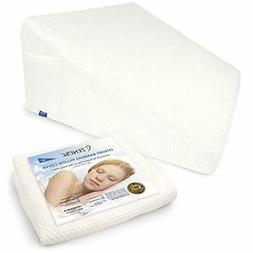 Replacement Wedge Pillow Cover Only for Standard Size Bed We