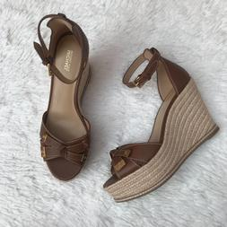 ripley leather wedge sandal size 9 5