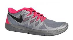 Girl's Nike 'Free 5.0 Flash' Running Shoe Reflect Silver/ Hy