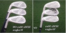 TaylorMade's 2021 SIM2 Max & Max OS Matching Approach/Sand/L