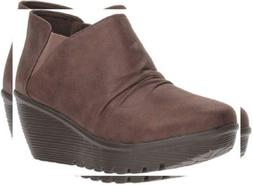 Skechers Women's Parallel-Curtail-Twin Gore Ruched Bootie An