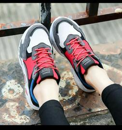 Sneakers Women Casual ShoesGenuine Leather Girls Wedges Pl