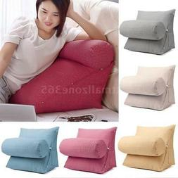 Soft Sofa Bed Chair Rest Neck Support Back Wedge Cushion Pil