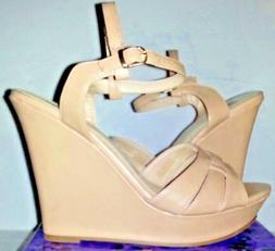 Chelsea Moreland Studio Womens Wedge Dress Shoes Size 8 1/2