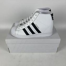 Adidas Superstar Up Wedge Shoes Womens Size 8.5 Cloud White