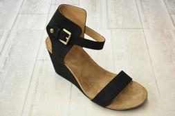 Adrienne Vittadini Ted Wedge Sandals - Women's Size 11M - Bl