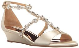 Women's Badgley Mischka Terry Sandal, Size 7.5 M - Ivory