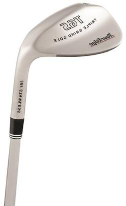 Tour Edge TGS Triple Grind Stainless Steel Men's Tour Wedge
