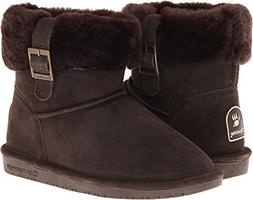 Bearpaw Women's 'Abby' Trimmed Winter Ankle Boot