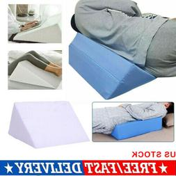 US Bed Wedge Pillow Foam Body Positioner Elevate support Bac
