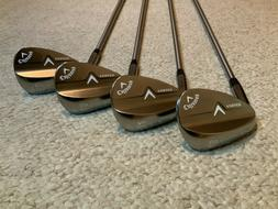 Callaway V Forged Wedge Set - 48*, 52*, 56*, 60* Project X 6