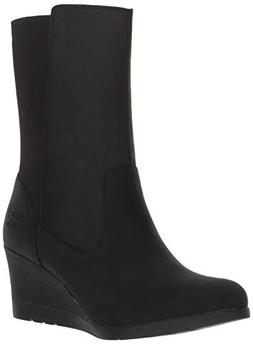 UGG Women's W Coraline Boot Fashion, Black, 8 M US