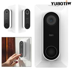 Wall Plate for Nest Hello Doorbell Holder with Adjustable We