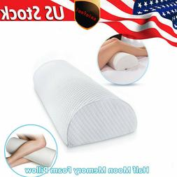Washable Memory Foam Knee Leg Elevation Wedge Bed Pillow Leg