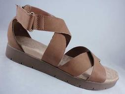 WearEver Italia Women's Sandals Brown Strappy Wedge Gladiato