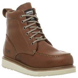 "Timberland PRO Men's 53009 Wedge Sole 6"" Soft-Toe Boot,Rust,"