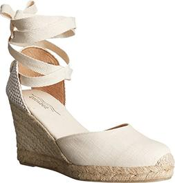 Women's Soludos Wedge Lace-Up Espadrille Sandal, Size 7 M -