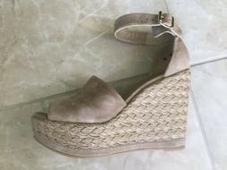 Stuart Weitzman Wedge Platform Sandals, Size 8, ON TREND