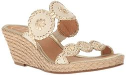 Women's Jack Rogers 'Shelby' Whipstitched Wedge Sandal, Size