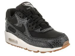 Nike Women's Air Max 90 Prem Black/Black/Sail/Gum Med Brown