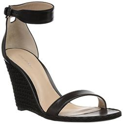 women s backupwedge wedge sandal black nappa
