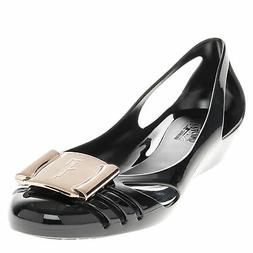 Salvatore Ferragamo Women's Bermuda Jelly Cutout Wedge Sanda
