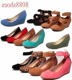 women s cute causal round toe low