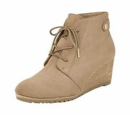 Women's Dr. Scholl's Conquer Ankle Boot Toasted Coconut Soft