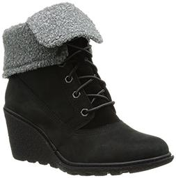 Women's Timberland Earthkeepers 'Amston' Wedge Boot Black Si