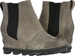 Sorel Women's Joan of Arctic Wedge II Chelsea Boots, Quarry,