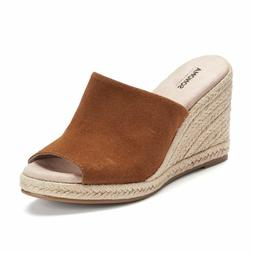 SONOMA Goods for Life Women's Jute Espadrille Whiskey Suede